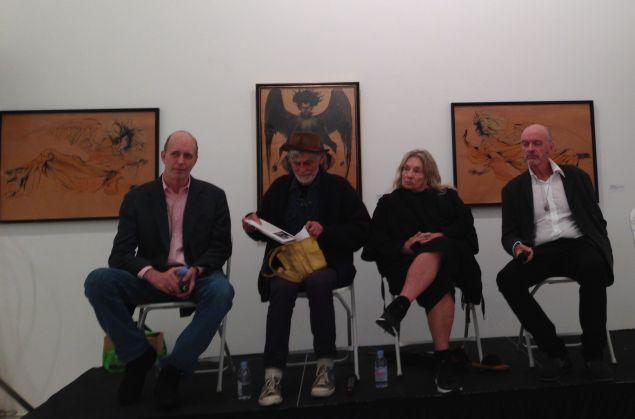 Panel members (L to R): William Breeze, Allen Midgette, Cynthia MacAdams, and Scott Hobbs). (Photo: Cameron Parsons Foundation)