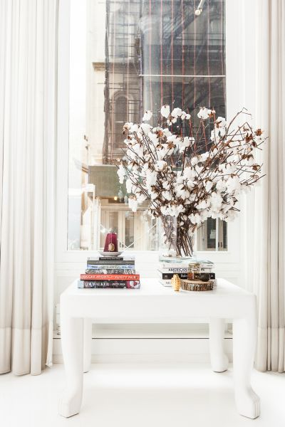 Flowery nook. (Photo: Emily Assiran for Observer)