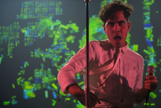 Neon Indian @ Webster Hall (Justin Joffe for Observer)