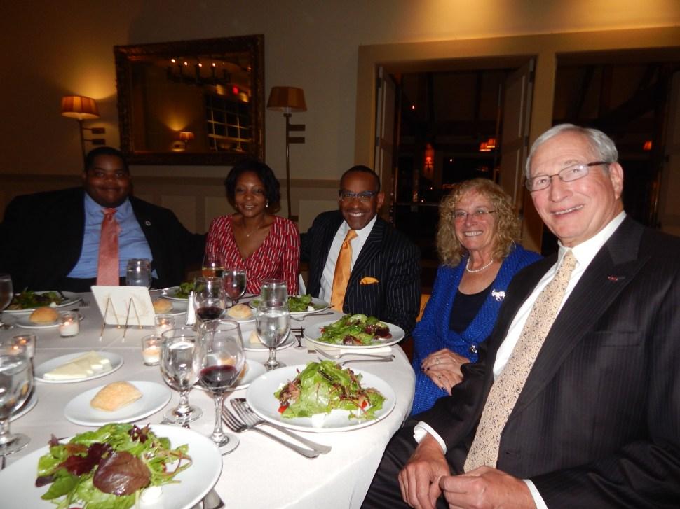 From left: Chris James, Jacqueline Jones, Leroy Jones, Peg Schaffer and Joel Shain.