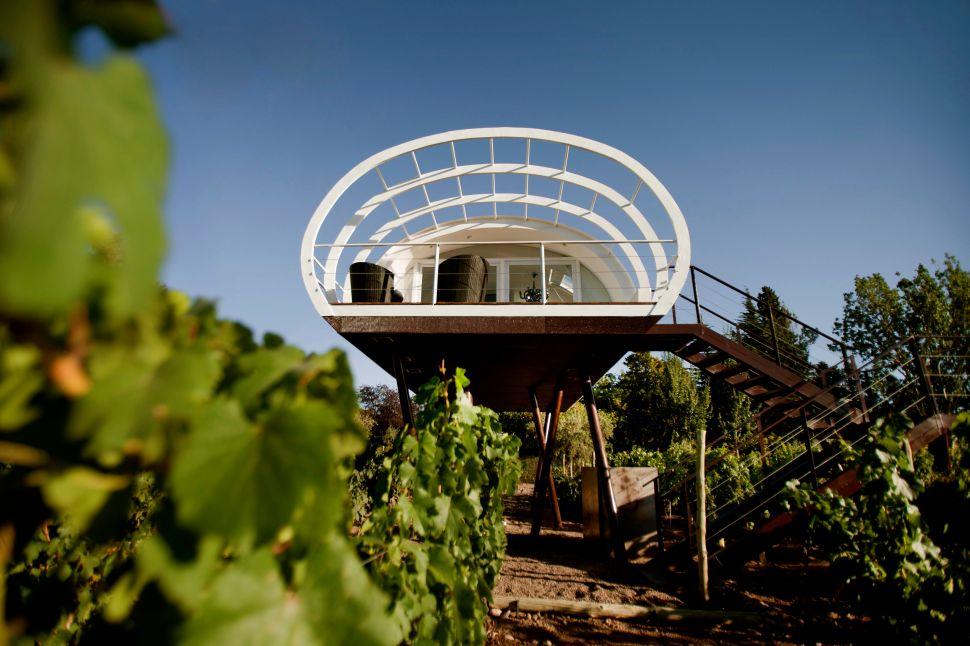 Entre Cielos Wine Loft (Photo: Entre Cielos).