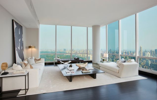 No matter the decor, the views sort of dominate. (Brown Harris Stevens)