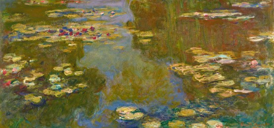 Claude Monet's Nympheas, owned by Paul Allen. Courtesy the Portland Art Museum.