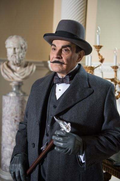 David Suchet as Poirot. (Photo: Courtesy PBS_