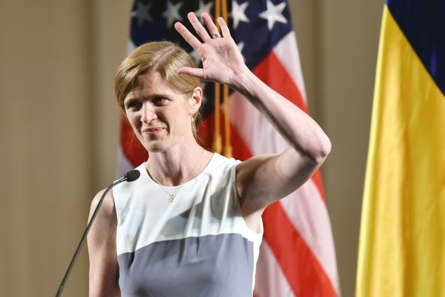 Samantha Power, U.S. Ambassador to the United Nations. (Photo: Getty Images)