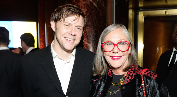 The author and Alice Walton. (Photo: Courtesy of BFA NYC)