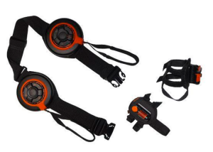 The Disq attaches around one's waist and ankles. (Photo: www.thedisq.com)