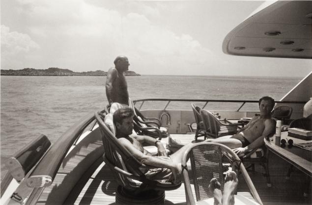 Midnight Saga Boat Trip, shot in 1981(Photo: Kelly Klein)