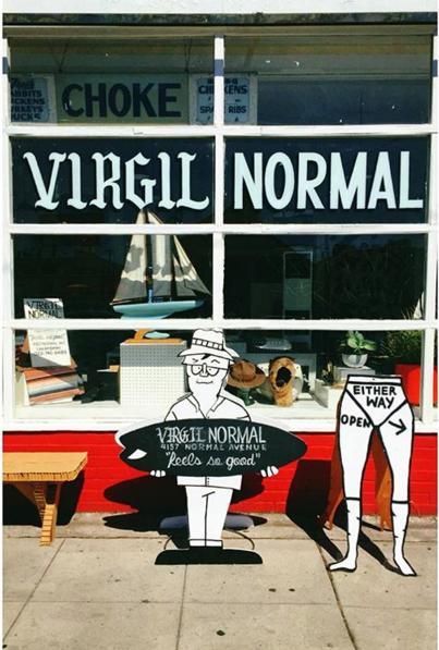The Virgil Normal storefront (Photo: Instagram/VirgilNormal).