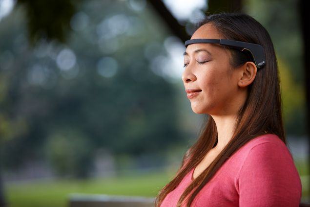 Muse, the brain-sensing headband. (Photo: Muse)