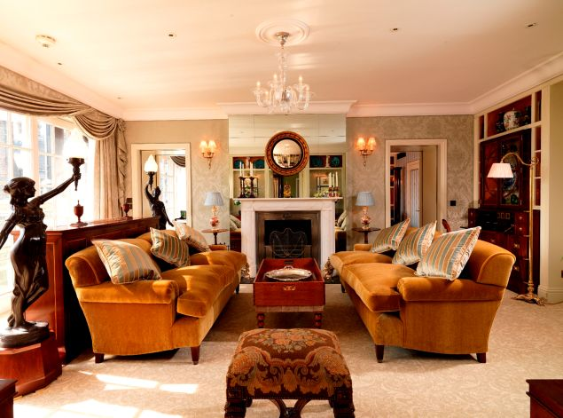 The drawing room of The Goring (Photo: Courtesy The Goring).
