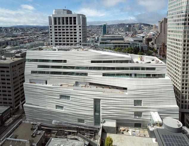 The new San Francisco Museum of Modern Art will open May 14, 2016. (Photo: Henrik Kam)