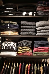 A stack of sweaters, imported from Oz (Photo: Courtesy Convicts).