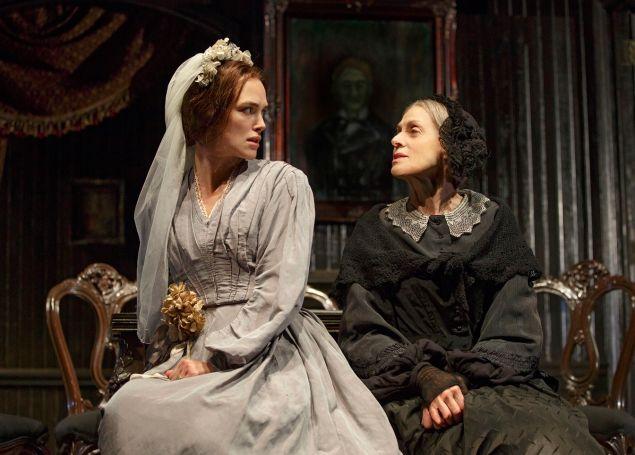 Keira Knightley, left, with Judith Light. (Photo: Joan Marcus)