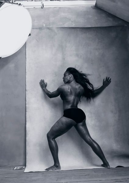 04 Pirelli Calendar 2016 -April - SERENA WILLIAMS