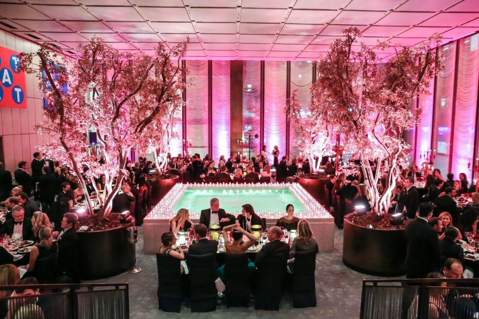 The Four Seasons Pool Room (Photo: The Society of MSKCC).