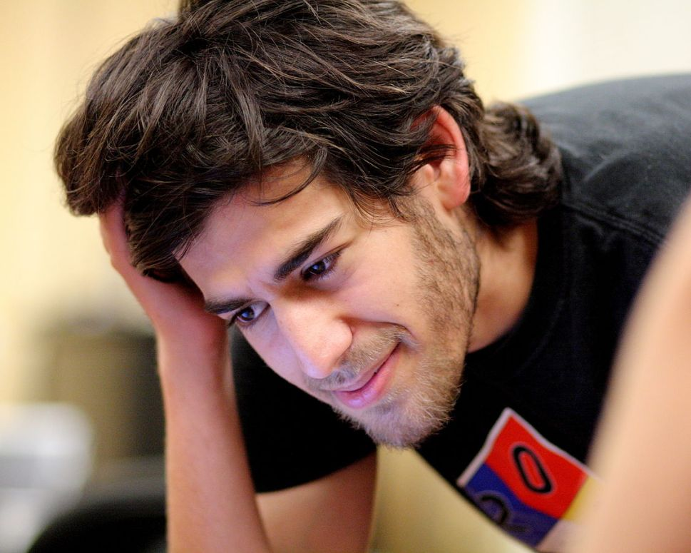 Aaron Swartz at the Boston Wiki Meetup in 2008. (Photo: Sage Ross / Wikicommons)
