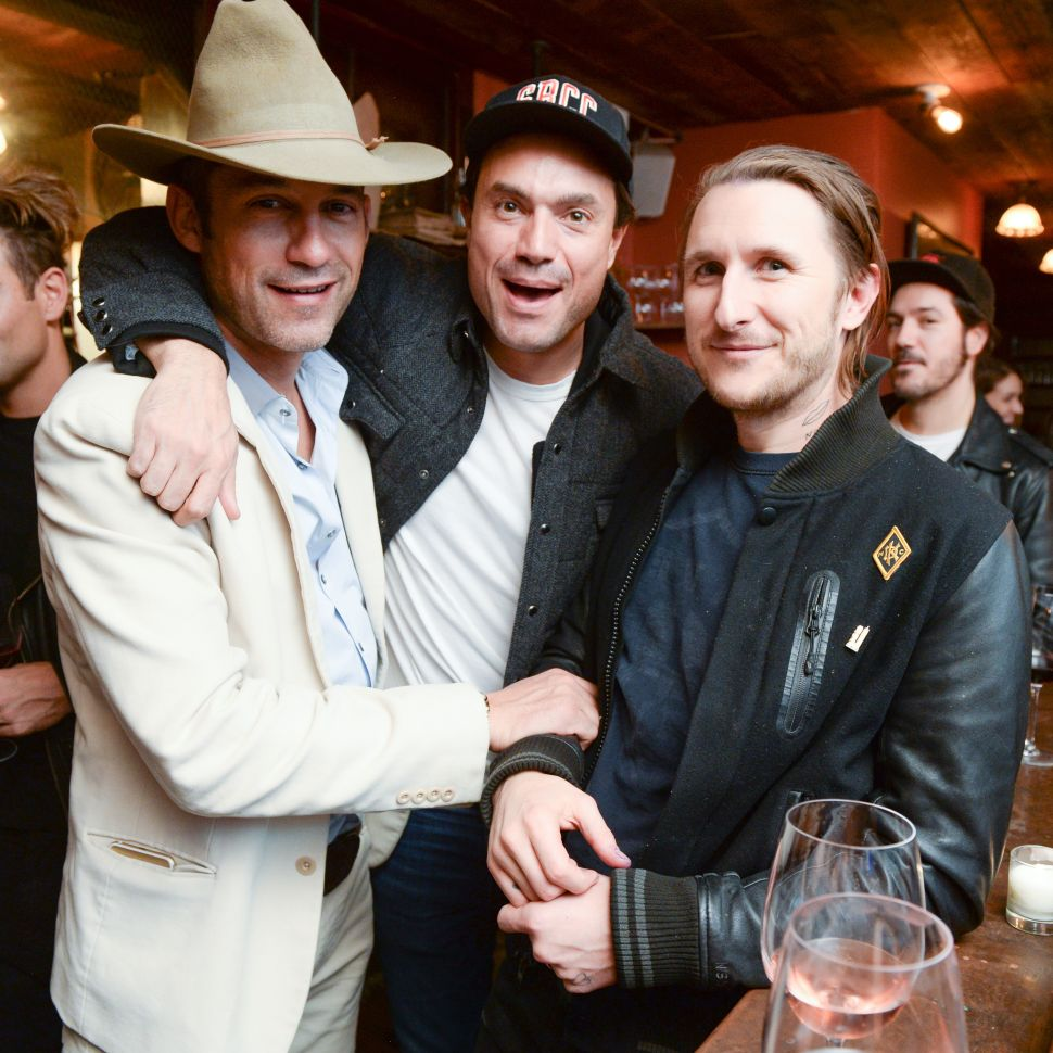 Enrique Murciano, James Stone, Scott Campbell (Photo: Joe Schildhorn for BFA).