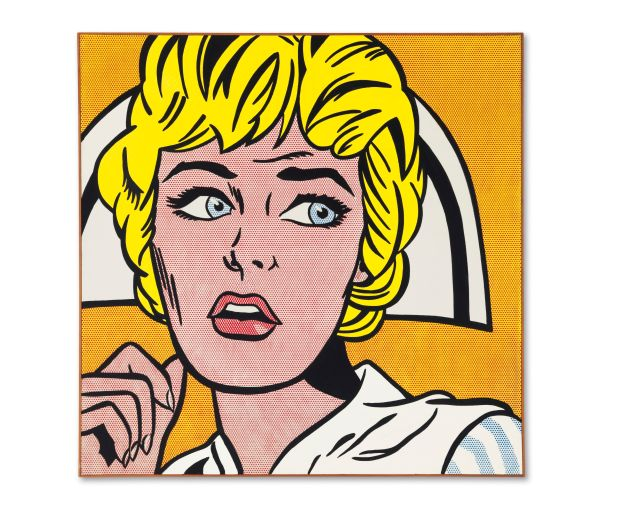 Lichtenstein's Nurse. (Photo: Courtesy Christie's)