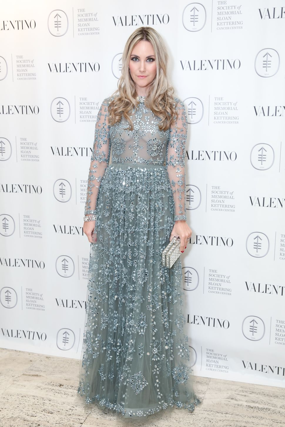 Elizabeth Kurpis wearing Valentino (Photo: The Society of MSKCC).