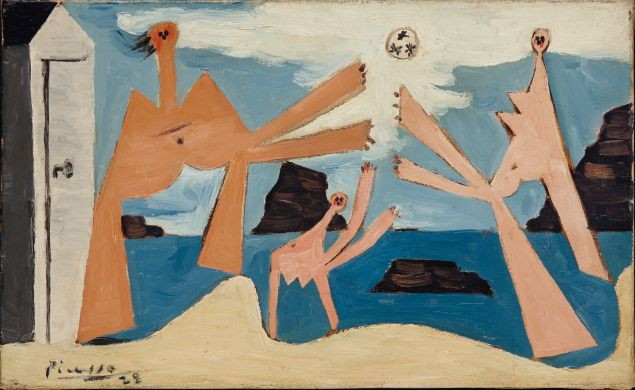 Pablo Picasso, Baigneuses au ballon, (1928). (Photo: Christie's)