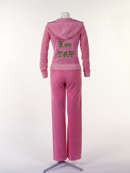 The iconic tracksuit immortalized. (Photo: Courtesy V & A Collections)