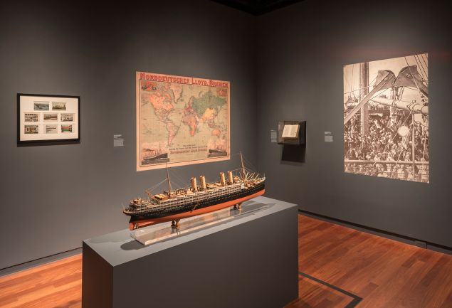 Installation view of the Alfred Stieglitz exhibition at the Jewish Museum. Jewish Museum, NY. Photo by: David Heald.