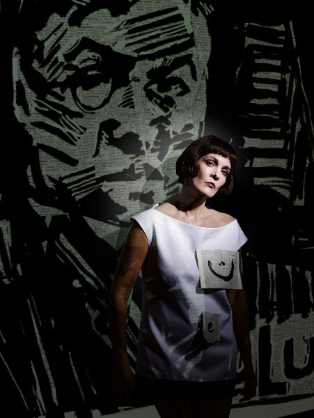 Marlis Petersen as Lulu. (Photo: Kristian Schuller/ Metropolitan Opera)