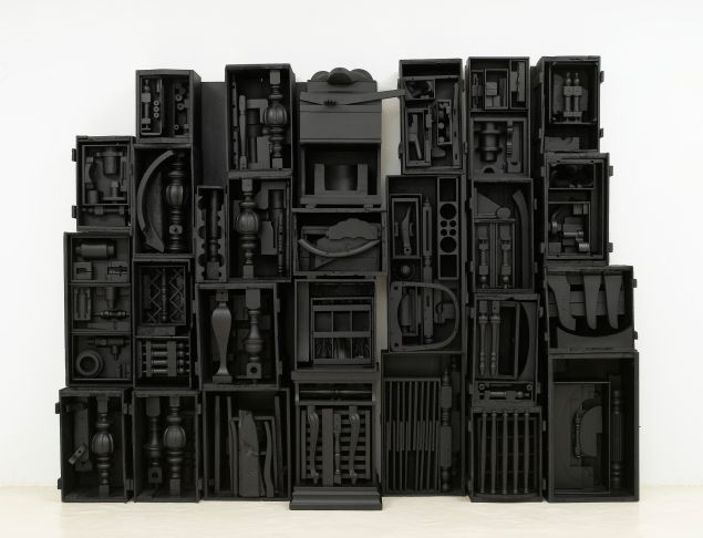 Louise Nevelson, Untitled, 1964. (Photo: Courtesy of © 2015 Estate of Louise Nevelson/Artists Rights Society (ARS), New York)