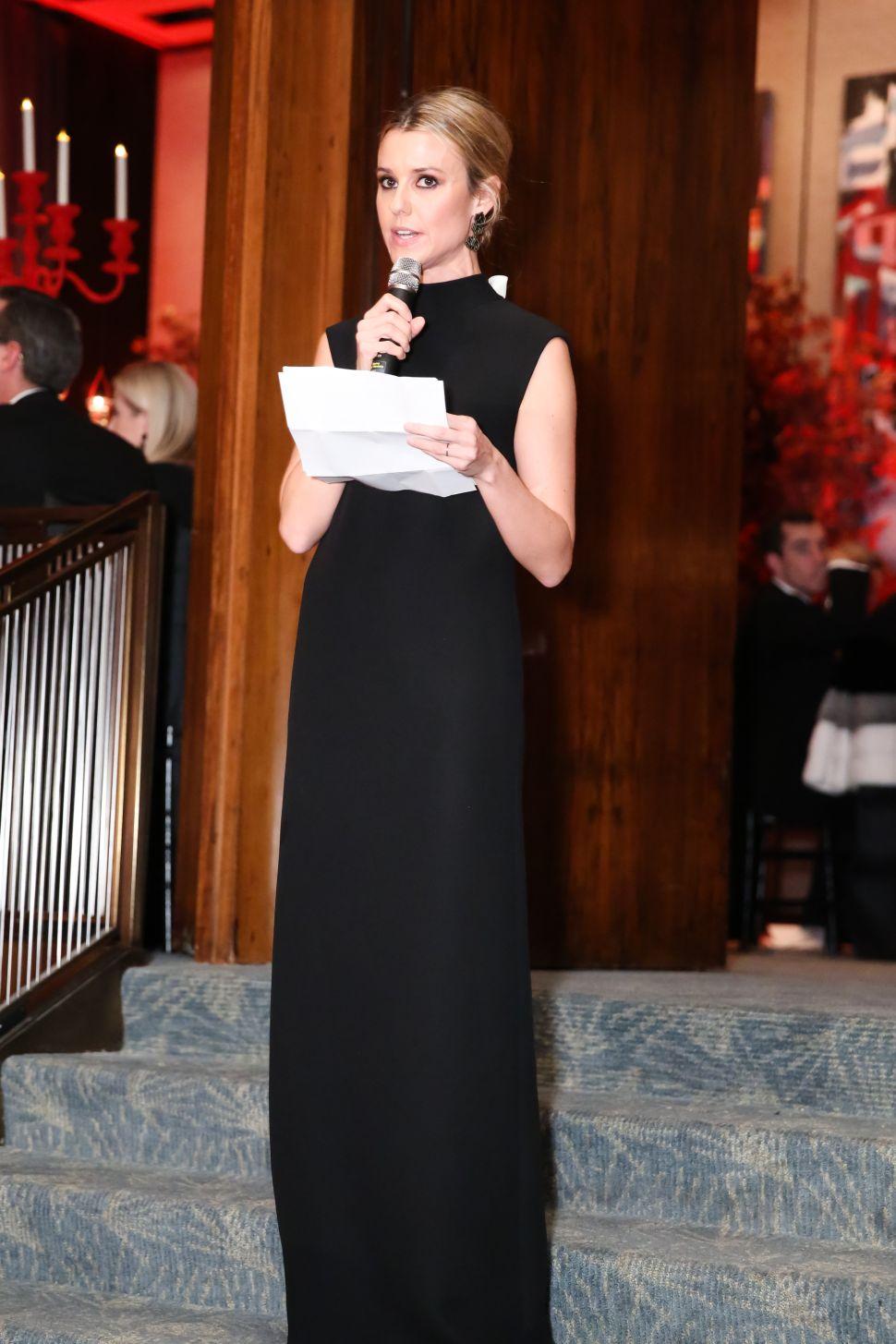 Eleanor Ylvisaker wearing Valentino (Photo: The Society of MSKCC).