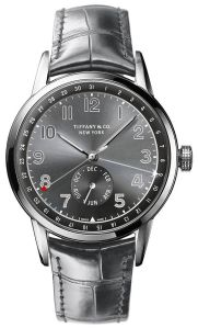 2_Tiffany CT60 Annual Calendar Limited Edition watch with gray soleil finish (1)