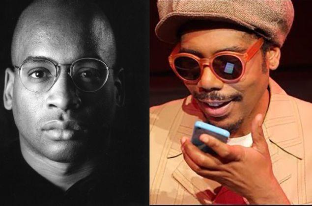 Glenn Ligon and Carl Hancock Rux. (Photos: Courtesy of the artists)