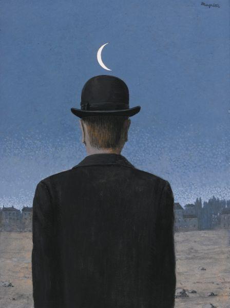 Rene Magritte, La Maitre D'Ecole, (1955). (Photo: Sotheby's)