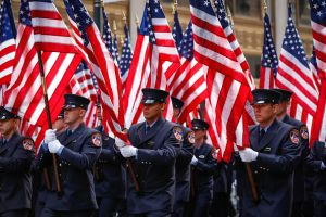 Google kicks New York City's annual Veterans Day parade into high (tech) gear. (Photo: Getty Images)