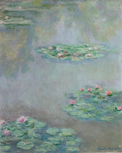 Claude Monet, Nympheas, (1908). (Photo: Sotheby's)