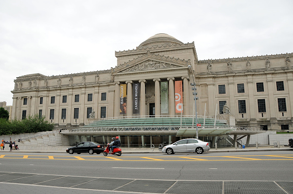 NEW YORK, NY - JUNE 04: Exterior view of the Brooklyn Museum during the Brooklyn Museum's Sackler Center First Awards at Brooklyn Museum on June 4, 2015 in New York City. (Photo by Desiree Navarro/WireImage)