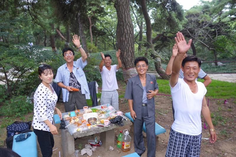 Our newfound North Korean friends