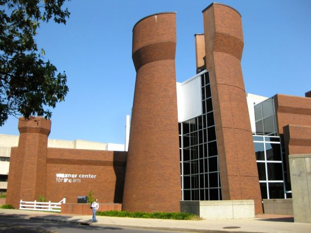 Wexner Center for the Arts by Peter Eisenman
