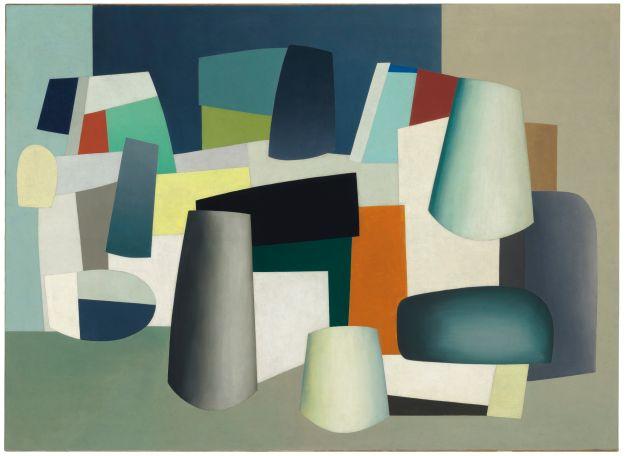 Jean Hélion, Abstraction, (). (Photo: Christie's)