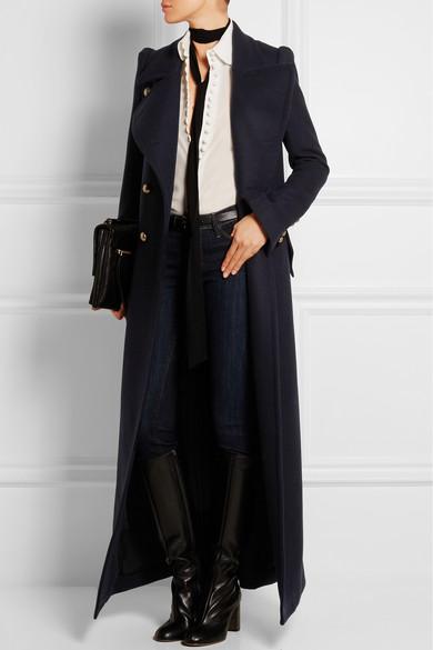 Chloé Double-breasted wool coat, $4,985, Net-A-Porter.com (Photo: Net-A-Porter).