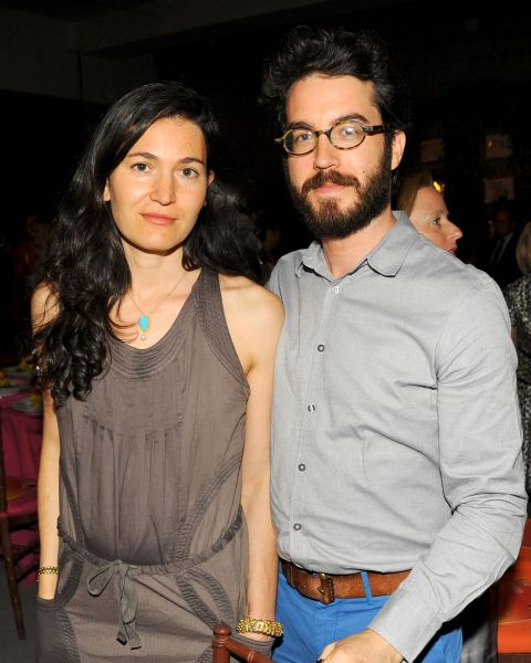 Literary power couple Jonathan Safran Foer and Nicole Strauss may have split, but at least their Park Slope limestone is staying in the family. (Paul Bruinooge/Patrick McMullan)