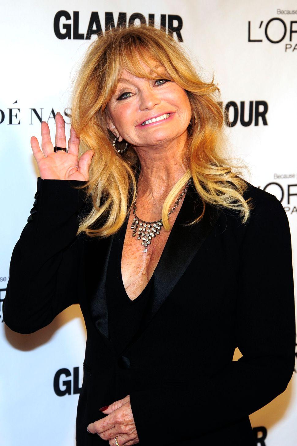 Goldie Hawn (Photo: Paul Bruinooge for Patrick McMullan).