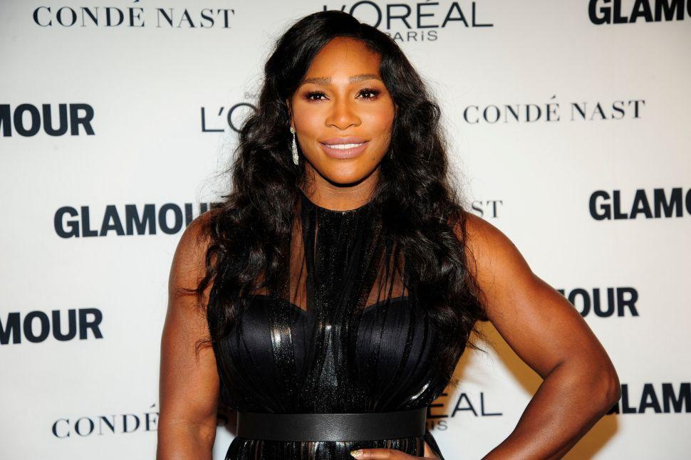 Serena Williams (Photo: Paul Bruinooge for Patrick McMullan).