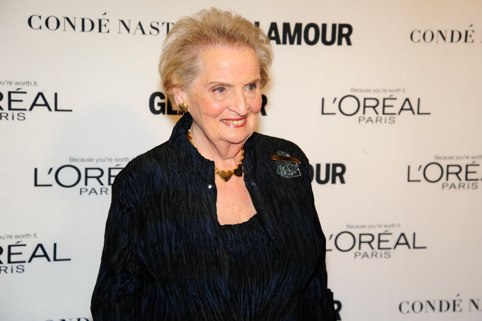 Madeline Albright (Photo: Paul Bruinooge for Patrick McMullan).