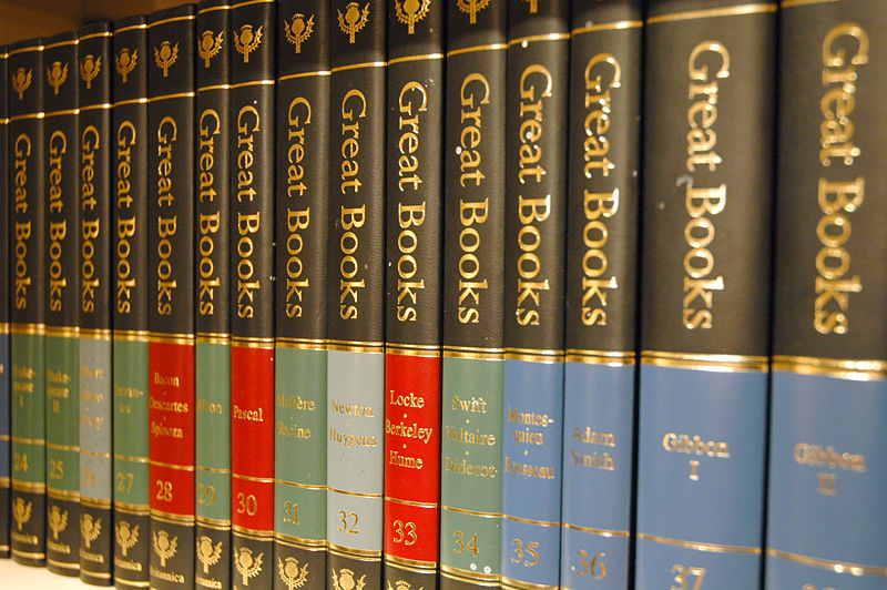 Great Books of the Western World (Photo: WikiMedia Commons)
