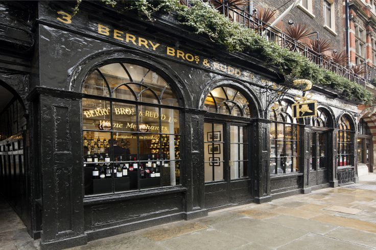 Berry Brothers & Rudd London Flagship (Photo: Berry Brothers & Rudd).