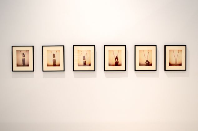 Untitled (Body Tracks) (1974) by Ana Mendieta. (Photo: Courtesy De La Cruz)