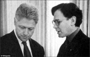 President Clinton with Mr. Blumenthal. (Photo: WIKI Commons)