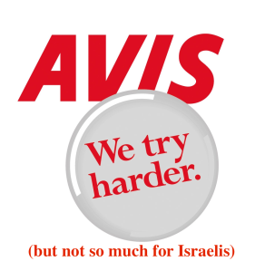 Avis logo touched