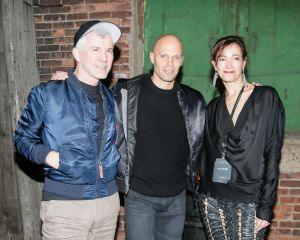 "Jeanne Greenberg-Rohatyn, Keith Rubenstein and Baz Luhrmann at ""Macabre Suite."" (Photo: Courtesy of BFANYC.com)"